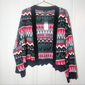 Rue21 Sweaters - Rue 21 Christmas holiday open cardigan medium
